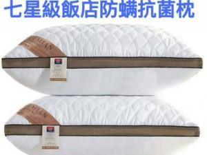 七星級飯店防蟎抗菌枕
